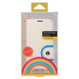BASEUS Rainbow Case Samsung Galaxy S4 [LTSAI9500-RW02] - White - Casing Handphone / Case